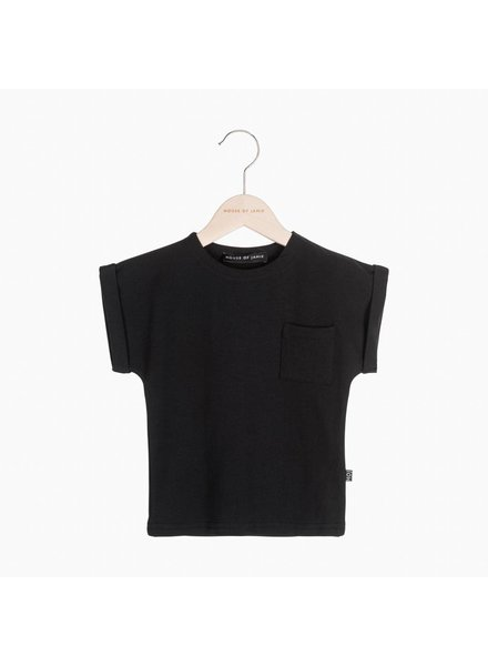 House of Jamie Batwing Tee - Black