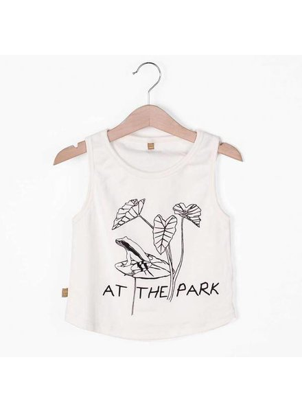 "Lotiëkids Tank Top Off White ""At The Park"""