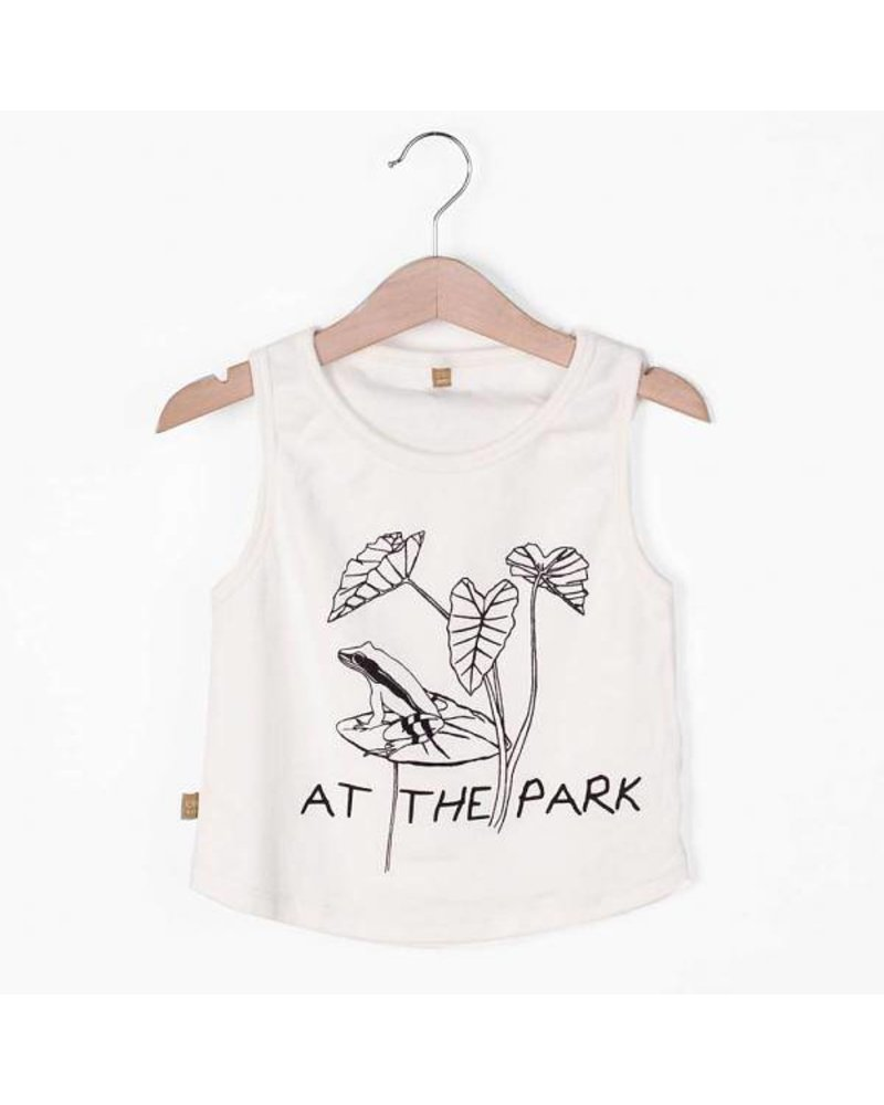 """Lotiëkids Tank Top Off White """"At The Park"""""""