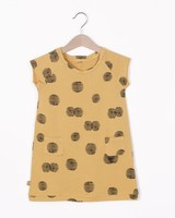 "Lotiëkids Dress Raglan sleeve ""Sunset"" - Light Ochre"
