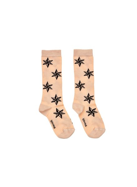 IGLO + INDI Peach Star Socks