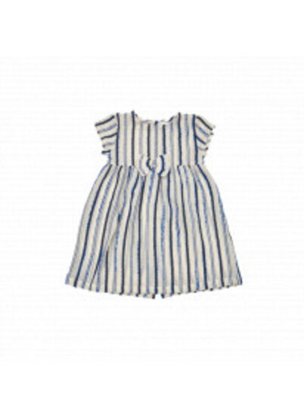 IGLO + INDI Navy Stripe Baby Dress