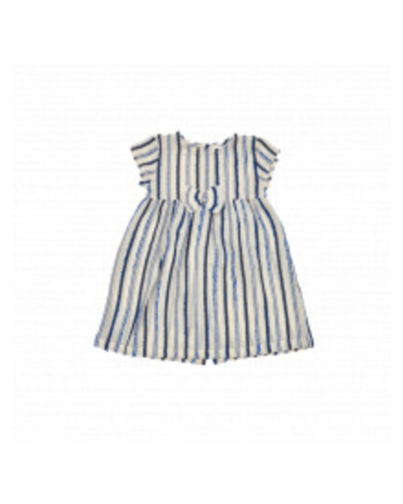 IGLO + INDI Navy Stripe Baby Dress