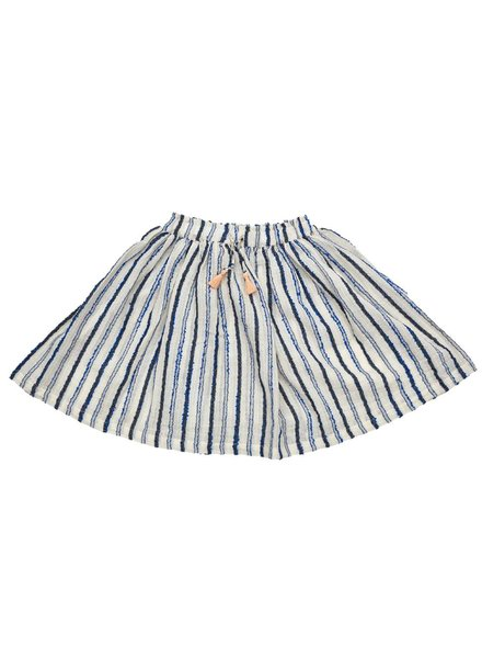 IGLO + INDI Navy Stripe Skirt