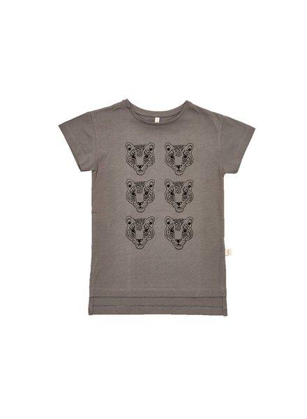 IGLO + INDI Charcoal Leopard T-shirt