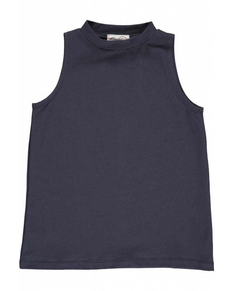 Gro Company Gro Hillery Top - Dark washed
