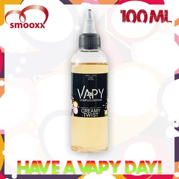 Vapy Complex Creamy Twist (100ML)
