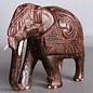 Elephant, Eastindian Rosewood, 100 mm