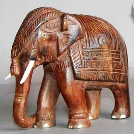 Elephant, Eastindian Rosewood, 125 mm