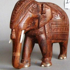 Elephant, Eastindian Rosewood, 150 mm