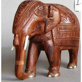 Elephant, Eastindian Rosewood, 150 mm