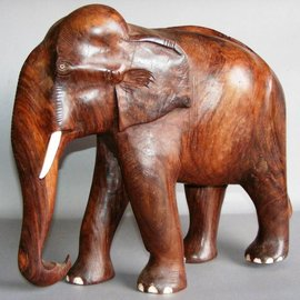 Elephant, Eastindian Rosewood, 130 mm