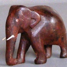 Elefant aus Ostindisch Palisander, 50 mm