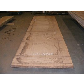 Afzelia - Doussie Tischplatte, 450 x 127 x 0,55 cm