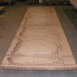 Afzelia - Doussie, tabletop, 450 x 127 x 0,55 cm, kiln dried, both sides cut