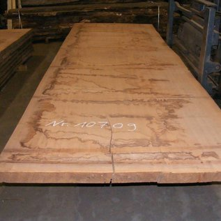 Afzelia - Doussie, tabletop, 450 x 135 x 0,55 cm, kiln dried, both sides cut
