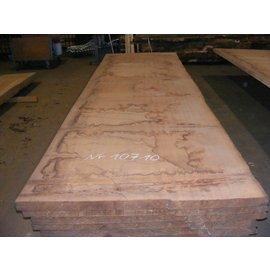 Afzelia - Doussie Tischplatte, 450 x 133 x 0,55 cm, künstlich getrocknet, besäumt