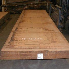 Afzelia Tischplatte, 450 x 131 x 0,55 cm, künstlich getrocknet, besäumt