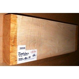 Sycamore, fiddleback, Guitar-Body, 555 x 180 x 53 mm, 3,2 kg