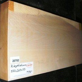 RIEGELAHORN, Gitarrenkorpus, 550 x 260 x 53 mm, 4,9 kg