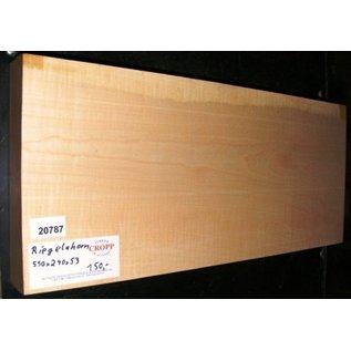 Ahorn, RIEGELAHORN, Gitarrenkorpus, 550 x 240 x 53 mm, 4,6 kg