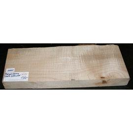 RIEGELAHORN, Gitarrenkorpus, 540 x 215 x 50 mm, Bläue oben links, 5,6 kg