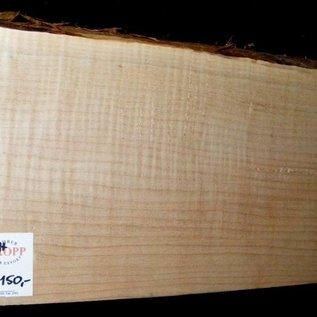 """Ahorn, amerik. SPITZAHORN, """"Soft Maple"""", geriegelt, 555 x 200 x 54mm, 3,6  kg, Acer macrophyllum"""