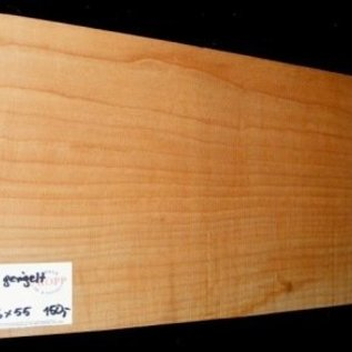 """Ahorn, amerik. SPITZAHORN, """"Soft Maple"""", geriegelt, 560 x 236 x 55 mm,  4,5  kg, Acer macrophyllum"""