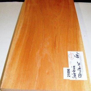 Mahagoni, SWIETENIA Mahagoni, Gitarrenkorpus, 550 x 240 x 45 mm, 4,3 kg, künstlich getrocknet