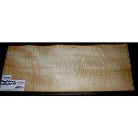 Sycamore, fiddleback, guitar body, 560 x 210 x 50 mm, 6,5 kg