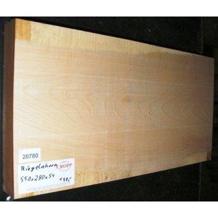 Ahorn, RIEGELAHORN, Gitarrenkorpus, 550 x  280x 54 mm, 5,4 kg