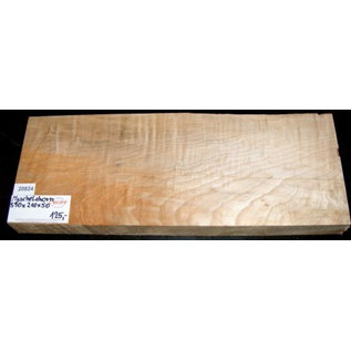 Ahorn, MUSCHELAHORN, Gitarrenkorpus, 550 x 210 x 50 mm, 4,2 kg