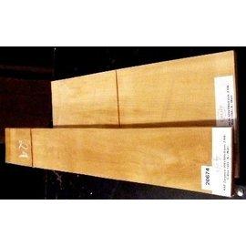 Edelkastanie, Gitarrenböden & Zargen, 520 x 190 x 4/800 x 105 x 4 mm, 1,3 kg