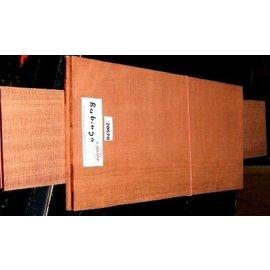 Bubinga, 550x215x4,5 /825x125x4 mm, luftgetrocknet, Einschnitt 2010