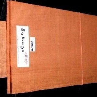 Bubinga, Kevazingo, guitar bottom and sides, 550x215x4,5 / 825x125x4 mm