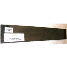 10 Stück pro Satz / Ebenholz, streifig, 500-530 x 60/65 x 8-9 mm