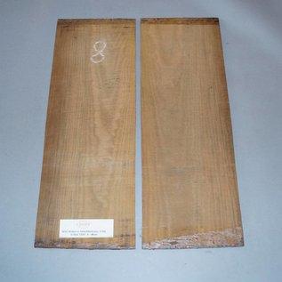 Bocote Böden, ca. 520 x 200 x 4 mm, spiegelbildlich, Einschnitt 2005