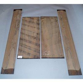 Ziricote, Böden und Zargen Set, spiegelbildlich, 1,9 kg