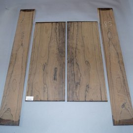 Ziricote, Böden und Zargen Set, spiegelbildlich,1,9 kg
