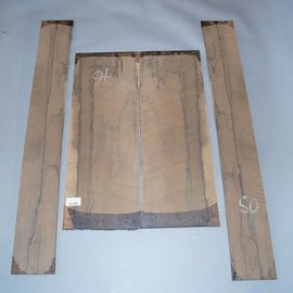 Ziricote, Böden und Zargen Set, spiegelbildlich, 1,4 kg
