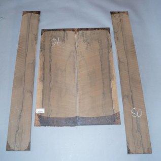 Ziricote, Böden und Zargen Set, spiegelbildlich, 1,4 kg, Einschnitt 2015