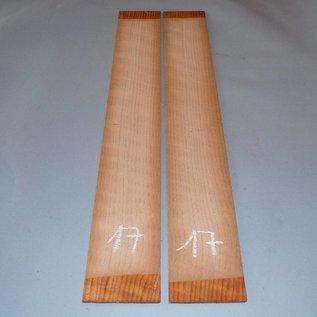 Redwood Zargen 1. Wahl, ca. 800 x 110 x 4 mm, spiegelbildlich, Einschnitt 2009