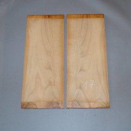 Kirschbaum, Böden, ca. 530 x 230 x 4 mm, spiegelbildlich