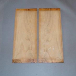 Kirschbaum, Böden, ca. 530 x 230 x 4 mm, spiegelbildlich, Einschnitt 2008
