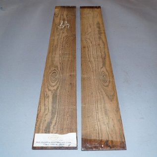Bocote, sides, approx. 800 x 110 x 4 mm, 2005, mirror cut