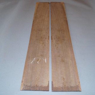 Black Walnut, sides, approx. 850 x 120 x 3 mm, 2008, mirror cut
