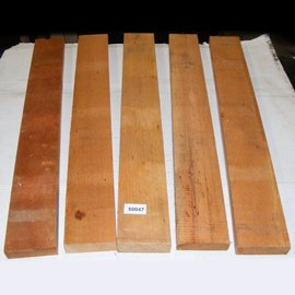 Cigarbox, wood, Brasil Cedro, Cedrela odorata, 5 pieces/set, 700 x 85 x 26 mm, 4 kg