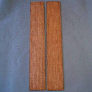 Bubinga Sides, approx. 840 x 130 x 4 mm, mirror cut