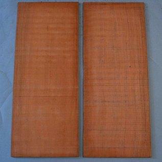 Bubinga Böden, ca. 550 x 200 x 5 mm, spiegelbildlich