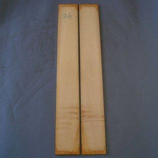 Zypresse Zargen, ca. 800 x 110 x 3 mm, spiegelbildlich